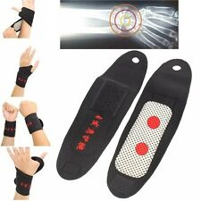 Tourmaline Self Heating Magnetic Wrist Support Brace Strap Wristband Pain Relief