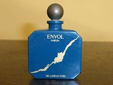 """VINTAGE TED LAPIDUS ENVOL Perfume Bottle with Glass Stopper - 2 3/4"""" Tall"""