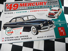 AMT 1:25TH SCALE 1949 MERCURY TWO DOOR COUPE PLASTIC MODEL KIT NEW / SEALED