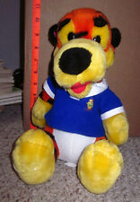TIGGER in preppy polo Winnie the Pooh plush doll GOLF vtg Disney toy AA Milne