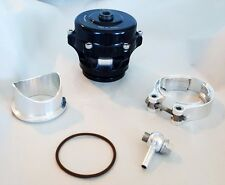 TIAL 50mm Q BLOW OFF VALVE BOV KIT 10 Psi BLACK (New Ver 2)