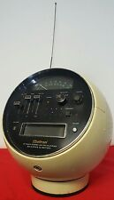 Vintage Weltron Model 2001 Space Ball AM/FM Radio 8 Track Stereo Tape Player
