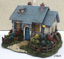 Thomas Kinkade Hawthorne Village FOXGLOVE BOATHOUSE Lamplight Seaside House