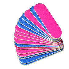 50pcs 100/240 Grit Professional Nail Files Nail Buffer Grit Nail Tools CTY