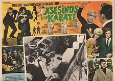 MAN FROM UNCLE KARATE KILLERS DAVID MCCALLUM MEXICAN