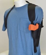 Shoulder Holster for S&W SD9VE & SD40VE with Laser Mounted on Gun Vertical