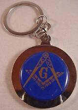 MASON MASONIC CHROME PERPETUAL CALENDAR KEY CHAIN RING NEW