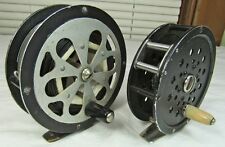 Two Vintage Pflueger Fly Reels Sal-Trout 1554 & Gem 2094, Ready to Fish!