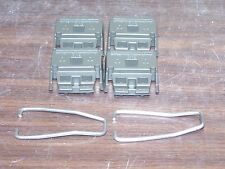 AGILENT HP 5041-8801 + 1460-1345 4xFEET DARK GRAY WITH STANDS PIEDS + BOUCLE *st