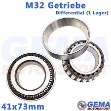 41x73mm Differential Lager M32 Getriebe Opel Astra H Z20LEH Kegelrollenlager