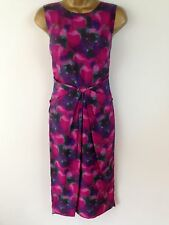 Bastyan Karen Millen Pink Wiggle Pencil Cocktail Evening Dress Party UK Size 10