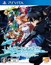 USED PS Vita Sword Art Online Hollow Fragment Bandai namco Free Shipping  Japan