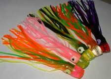 5 New Big Game Smoker Skirt Trolling Fishing Lures 11""