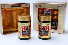 8.5oz (240g) X 2ea Korean 6-years Root Red Ginseng Gold Extract Saponin Panax