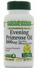 Nature's Bounty Evening Primrose Oil 1000 mg Softgels 60 ea