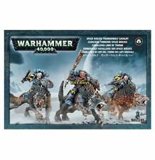 Warhammer 40k Space Wolves Thunder Wolf Cavalry  NIB