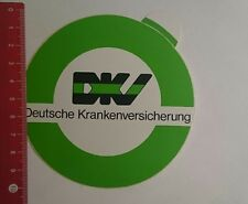 Aufkleber/Sticker: DKV deutsche Krankenversicherung (12111613)
