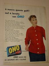 OMO LEVER SAPONE BUCATO=ANNI '50=PUBBLICITA=ADVERTISING=WERBUNG=413