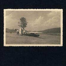 Vela avión Constance Wallrich sailplane/piloto: m Bacher * foto-ak u 1950