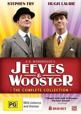 Jeeves And Wooster - The Complete Collection (DVD, 2009, 8-Disc Set) NEW SEALED