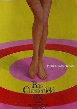 PUBLICITE BAS CHESTERFIELD LINGERIE LILION DE 1966 FRENCH AD PRINT PUB VINTAGE