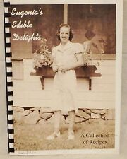 Eugenia's Edible Delights Cookbook Healy NY Brooklyn DeMuth Family Heirloom