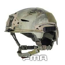 New FMA Tactical Protective ABS A-TACS Camo Helmet For Airsoft Paintball TB791