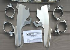 Honda VTX1800 C/R '02-'08 MEMPHIS SHADES MOUNT KIT ~ Fats Slims - Exposed Fork