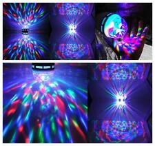 3w 360°LED Lampe Leuchte Lichteffekt Discokugel Auto-Rotation Bühnenlicht de