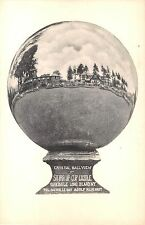 c.1910 Crystal Ball View Stirrup Cup Castle Oakdale LI NY post card