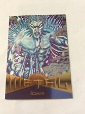 ICEMAN  Marvel Metal 1995 Trading Card nr 96