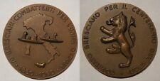 brescia medaglia centenario liberazione di Sicilia e unità d'Italia 1860
