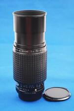 Pentax SMC -A 70-210 mm  f/4 Macro Telephoto zoom Manual Focus Lens