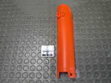 Ktm Sx/sxf 125-525 2000-2006 Oem Original inferior izquierda de la horquilla de guardia en Orange kt5003