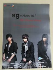 SG WANNABE / The Precious History  OFFICIAL POSTER *HARD TUBE CASE*