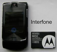 Immaculée Motorola V3i Mobile phone-facultatif chargeur bundle-mineur imperfection
