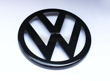 VW Jetta MK4 4 Bora GLI Gloss Black Front Grill Euro Badge Emblem Logo Decal VR6