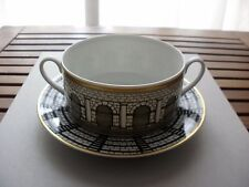 FORNASETTI  ROSENTHAL ARCHITETTURA PALLADIANA  LARGE CUP SOUP BOWL AND PLATE NEW