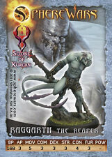 Sphere Wars Raggarth The Reaper Scions of Kurgan metal miniature new