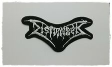 Dismember Iron Sew On Patch Embroider Rock Band Death Metal Music Free Shipping