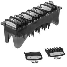 WAHL PREMIUM METAL CUTTING GUARD ATTACHMENT COMB CADDY SET - SIZE 0.5, 1.5 & 1-8