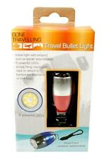 Boyz Toys RY663 'Bullet' Camping Torch 6x Bright LED With Lanyard and Carabiner
