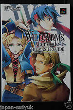 Wild Arms Alter Code:F The Master Guide art book OOP