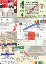 18 WALES (HOME) INT RUGBY TICKETS BUNDLE v ARGENTINA, AUSTRALIA, BARBARIANS