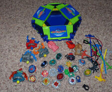 Beyblades Lot Metal Tops Launchers Cords VForce Arena