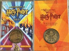 Universal Wizarding World Celebration of Harry Potter 2017 Minted Medallion Coin