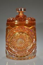"""pre-1940 #282 HOBSTAR by Imperial RUBIGOLD 8"""" Covered Cracker / Cookie Jar"""