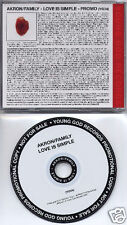 AKRON/FAMILY Love Is Simple 2007 US 11-trk promo CD