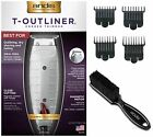 Andis Combo: T-Outliner Trimmer #04710 + Attachment Combs #23575 + Blade Brush