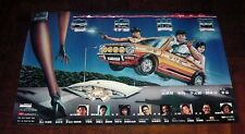 "Chow Yun-Fat ""Tiger on the Beat"" Ti Lung RARE HK 1988 ORIGINAL MOVIE POSTER"